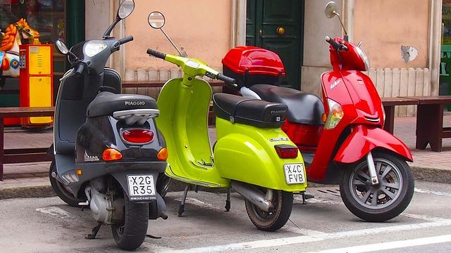 Sécurité avec votre scooter à essence