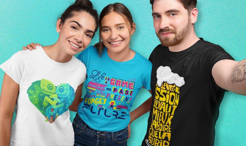 T-shirt personnalisé, l'incontournable de l'été
